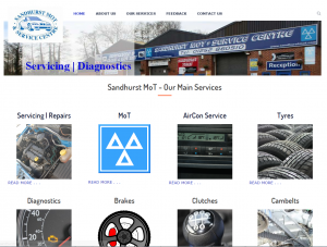Sandhurst MOT Website
