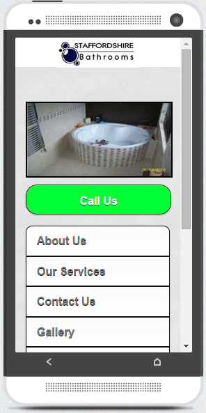 A Typical Good Mobile Site
