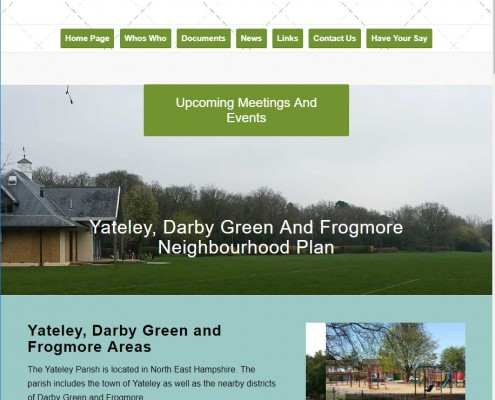 Yateley Parish neighbourhood Plan