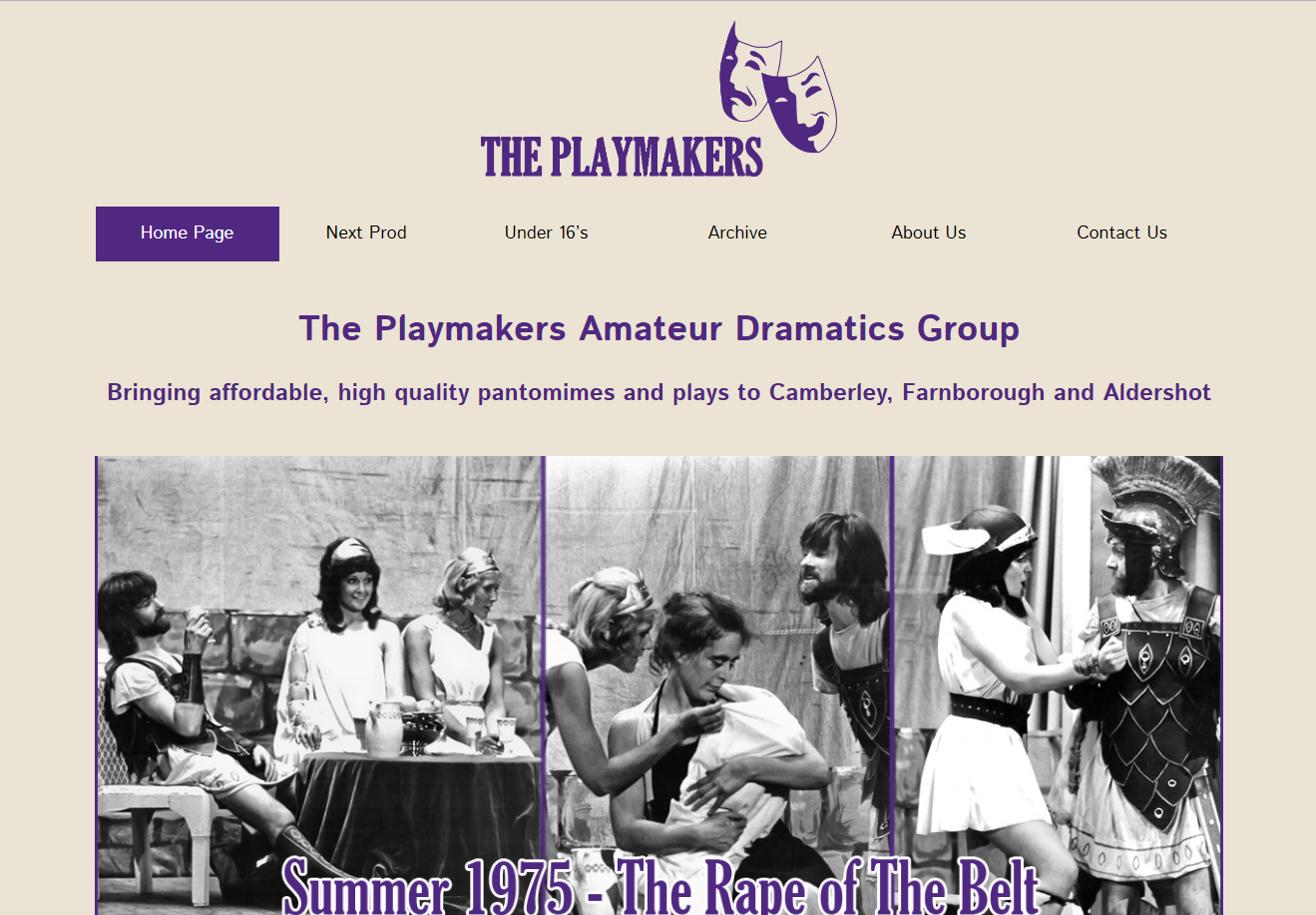 The Playmakers Website